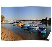 Maroochy River At Sunrise. Maroochydore, Qld, Australia. Poster