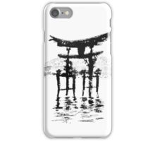 istukushima temple iPhone Case/Skin