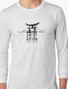 istukushima temple Long Sleeve T-Shirt
