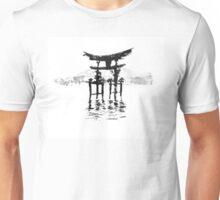 istukushima temple Unisex T-Shirt