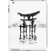 istukushima temple iPad Case/Skin