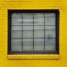 Yellow Window by Robert Baker