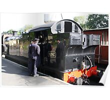 GWR ENGIN . Poster