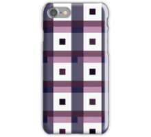 Boxes in Blue & Purple iPhone Case/Skin