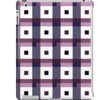Boxes in Blue & Purple iPad Case/Skin