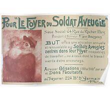 Pour le Foyer du Soldat Aveugle Poster