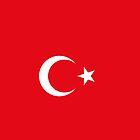 Turkish flag by ensar38