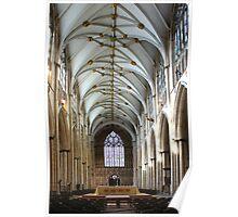 Inside York Minster Poster