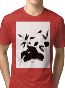 panda lunch Tri-blend T-Shirt