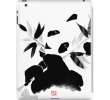 panda lunch iPad Case/Skin
