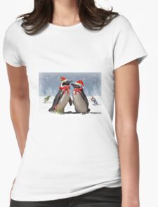 Magellanic Christmas Womens Fitted T-Shirt