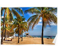 Fort Lauderdale Beach Poster