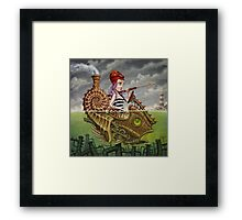 Nautilus Girl Framed Print
