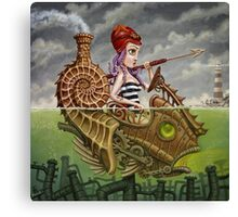 Nautilus Girl Canvas Print