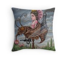 Queen Wasp Throw Pillow