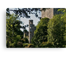 Keepers Watch Tower and Blarney Castle, County Cork, Ireland Canvas Print