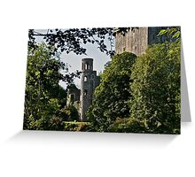 Keepers Watch Tower and Blarney Castle, County Cork, Ireland Greeting Card
