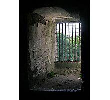 Window from inside Blarney Castle, County Cork, Ireland Photographic Print
