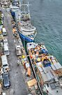 Loading Day at Potter's Cay Dock in Nassau, The Bahamas by Jeremy Lavender Photography