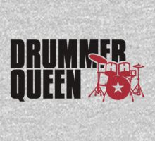 Drummer Queen by Cheesybee