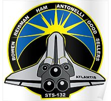 STS-132 Mission Patch Poster