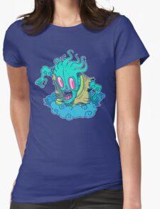 Kumo the Cloud Yokai Womens Fitted T-Shirt