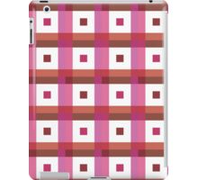 Boxes in Pink & Peach iPad Case/Skin
