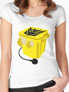 Transformer 110v Women's Fitted Scoop T-Shirt