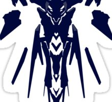 Halo 5: Guardians - Guardian Sentinel Silhouette Design  Sticker