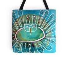 Kachina Was a Dancer original painting Tote Bag