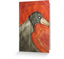 Shaman original painting Greeting Card