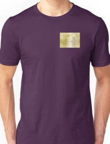 Serenity Prayer Azalea Gentleness Unisex T-Shirt