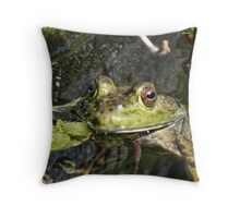 Kermit was wrong, being green isn't so bad Throw Pillow