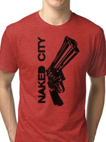 Gun Tri-blend T-Shirt