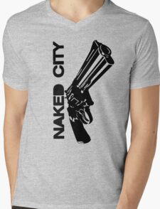 Gun Mens V-Neck T-Shirt