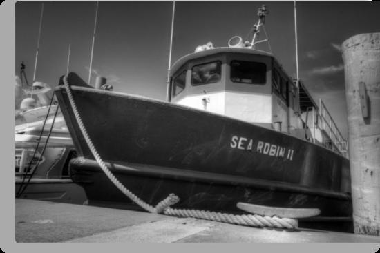 Sea Robin II docked at the Marina in Nassau, The Bahamas by 242Digital