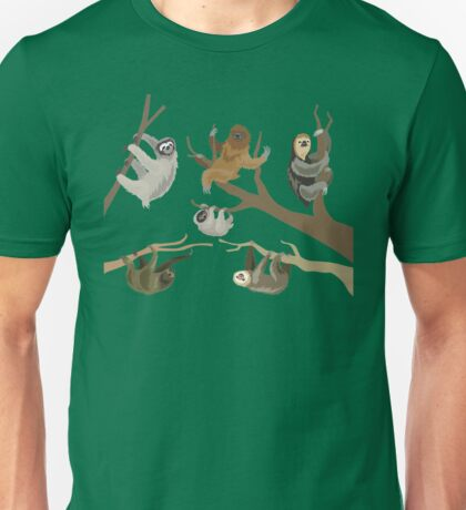 Know Your Sloths Unisex T-Shirt