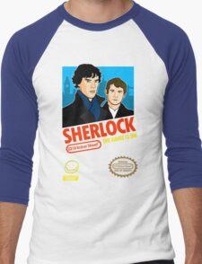 Sherlock NES Game Men's Baseball ¾ T-Shirt