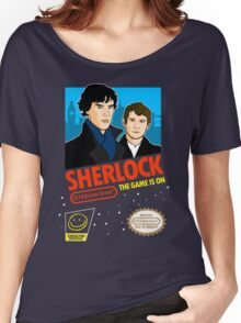 Sherlock NES Game Women's Relaxed Fit T-Shirt