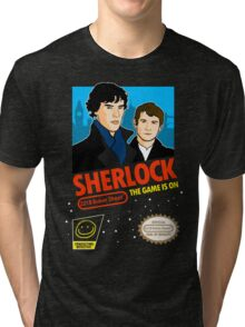 Sherlock NES Game Tri-blend T-Shirt
