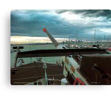 Aft Anti-Aircraft Gun Canvas Print