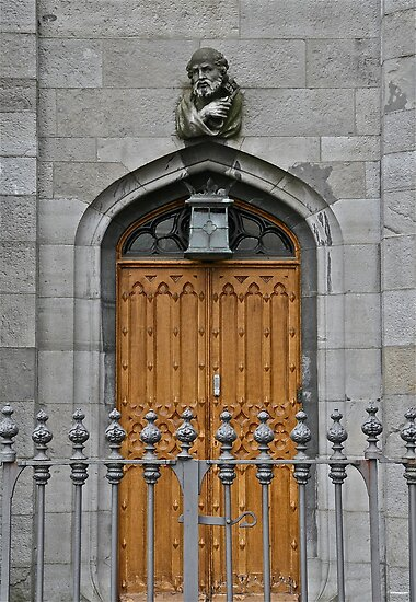 Dublin Castle Door, Dublin, Ireland by Mary Fox