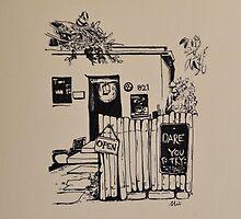 Tea House on the Hill by miriielizabeth