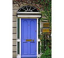 Purple Door, Dublin, Ireland Photographic Print