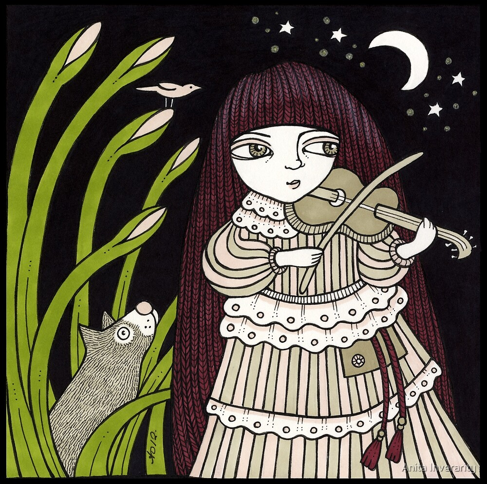 Fiddle Dee Dee by Anita Inverarity