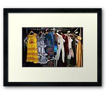The Wardrobe. Framed Print