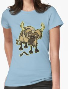 Shaved Beefalo, don't starve Womens Fitted T-Shirt