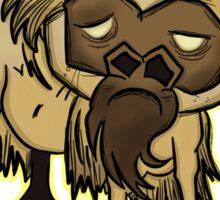 Shaved Beefalo, don't starve Sticker
