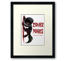 Hunter Pony Framed Print