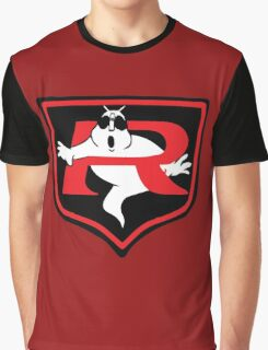 Ghostbuster Kamen Rider Graphic T-Shirt
